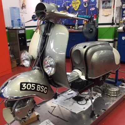 Lambretta TV2 BSG305, Mad Farmer, UK