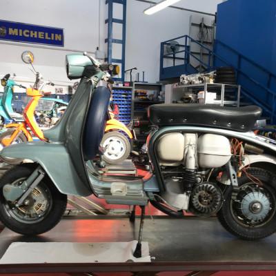 Innocenti Lambretta TV3 Mk2 Patina