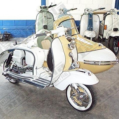 LI 150 Series 1 sidecar 'Afternoon Delight' Nev Cope