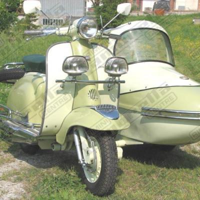 LI150 sidecar Bill Guthrie