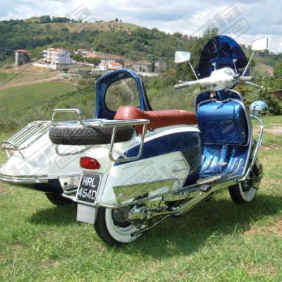 SX 200 sidecar Dean