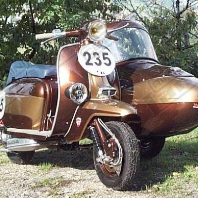 TV 225 sidecar Shiro