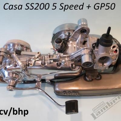 Motore elaborato Lambretta SS200 5 marce - Giosoppo, Lecce - Italia