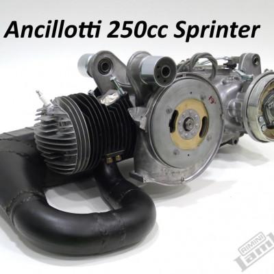 Restauro motore elaborato Lambretta 250cc - Alberto Ancillotti, Firenze, Italia