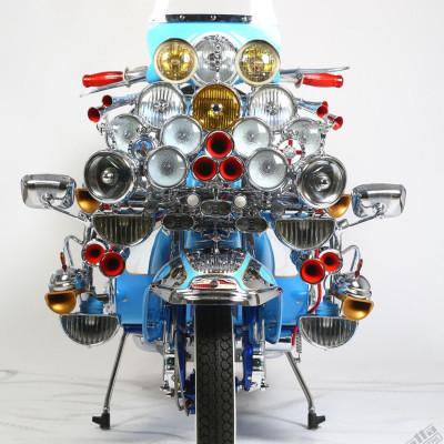 Lambretta TV175 Mod Custom - Richard Lynn (UK)