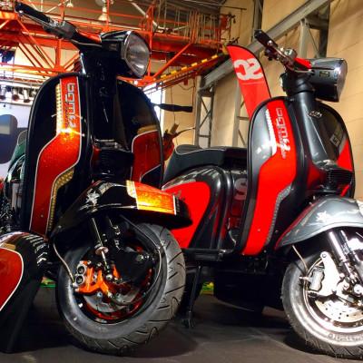 2  x  BGM Demonstrator 'Scooter di Prova' - Scooter Center & RLC