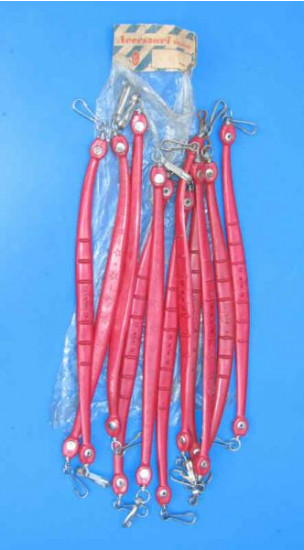 Maniglia sella rossa Biemme originale d'epoca