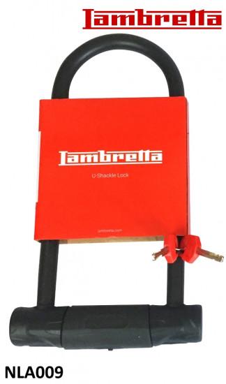 Lucchetto rigido a U per Lambretta V-Special (+ tutti i modelli di Lambretta classici)