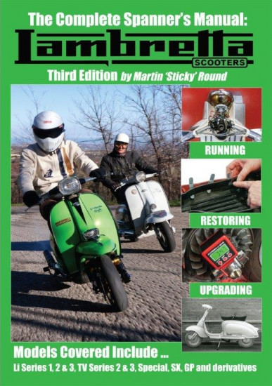 Manuale 'Spanners Workshop manual for Lambretta Scooters' di Sticky - 3° Edizione