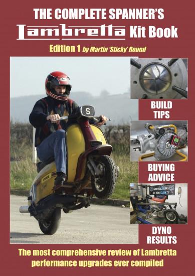 Manuale su tutti i kit di elaborazione Lambretta di Martin Sticky Round (EDIZIONE IN INGLESE)