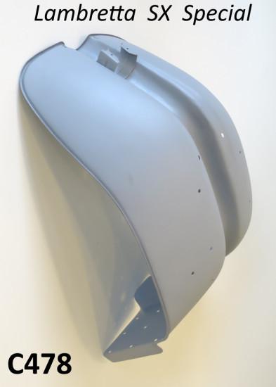 Scudo in metallo SENZA ghiera cromata per Lambretta TV3 + Special + SX