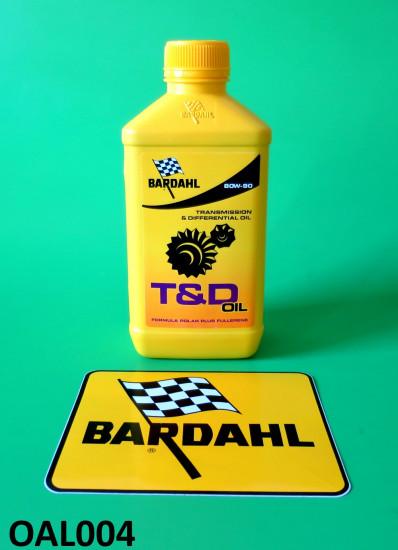 Bardahl T&D olio per cambio SAE 80W - 90