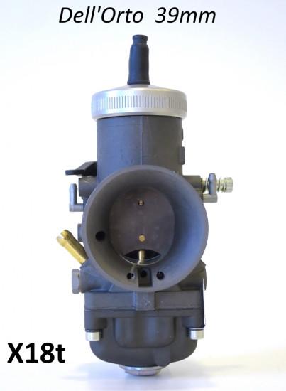Carburatore Dell'Orto VHSB 39mm Racing (con taratura generica)