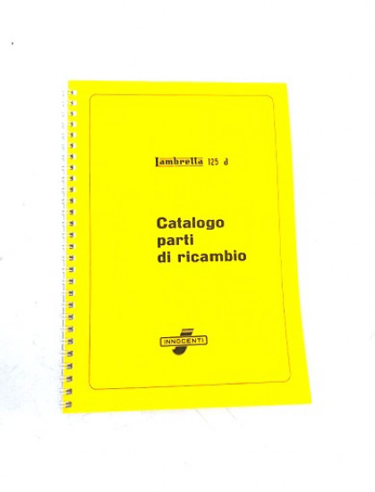 Catalogo Ricambi Lambretta 125 D