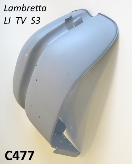 Scudo in metallo CON ghiera cromata per Lambretta S3 + TV3 + Special