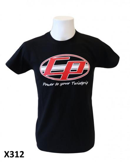 Maglietta Uomo 'Casa Performance' nera con logo ovale