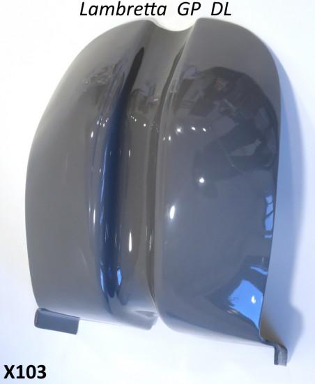 Scudo in vetroresina (rifinito sia all'esterno che all'interno) per Lambretta GP DL