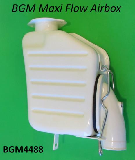 Scatola filtro 'flusso maggiorato' BGM Pro Lambretta S1 + S2 + S3 + SX + DL + Serveta