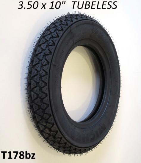 """Pneumatico Michelin S83 3.50 x 10"""" - versione TUBELESS"""