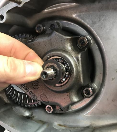 Rasamento spessore 0,7mm per campana frizione Lambretta J