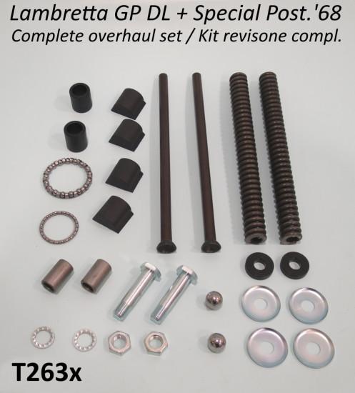 Kit revisione forcella completo Lambretta Special + SX + DL