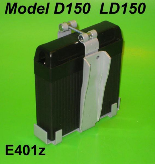 Batteria 6V (tipo d'epoca) Lambretta D150 LD150 (Vers. 2) LD'57