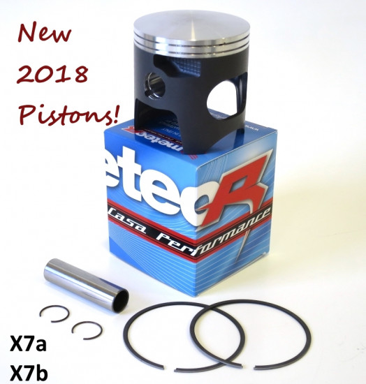 Pistone Meteor completo per kit cilindro Casa Performance SS225 (diametro 70mm)