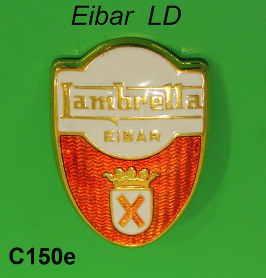 Scudetto per Lambretta LD Spagnola 'Eibar'