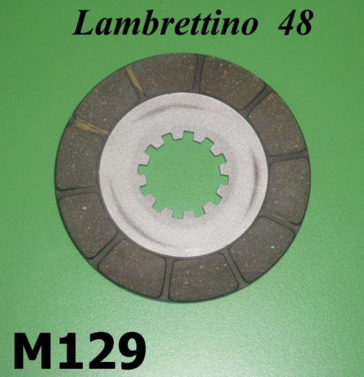 Disco guarnito frizione Lambrettino 48