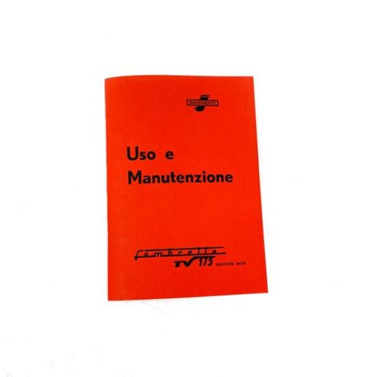 Libretto 'Uso e Manutenzione' Lambretta TV175 S2