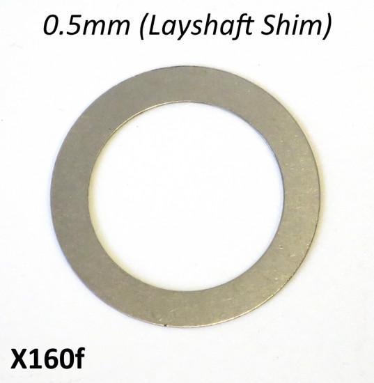 Spessore rasamento 0.5mm per sotto asse ruota posteriore per cambio 5 marce 'Cyclone 5 Speed'