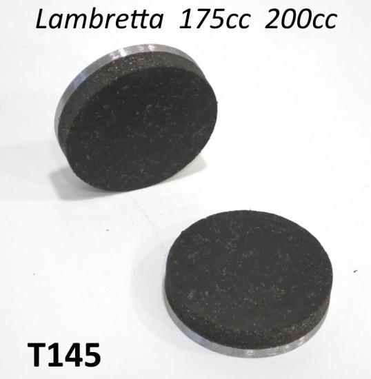 Coppia pastiglie per freno a disco Lambretta 175 + 200cc