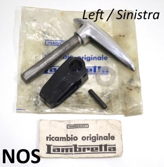 Maniglia cofano sinistro NOS Innocenti per Lambretta S3 + Special + SX + TV3