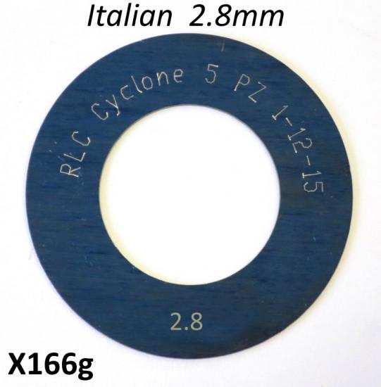 Spessore 2,8mm per 1° marcia del cambio Lambretta S1 + S2 + TV2 + S3 + TV3 + Special + SX + DL + Serveta