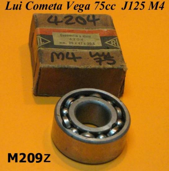 Cuscinetto SKF 4204 albero motore lato pignone Lambretta Lui 75S/SL + J125 Stellina M4