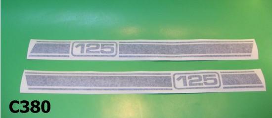 """Strisce adesive cofani laterali Lambretta Serveta """"125"""""""