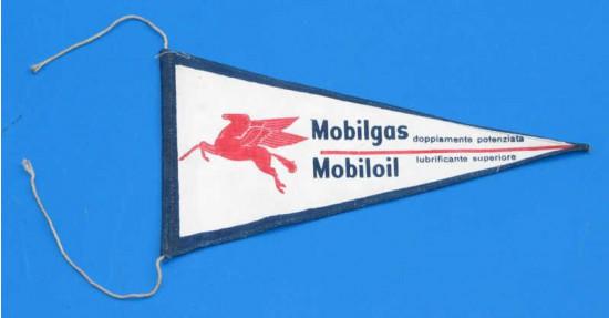 Bandierina ORIGINALE d'epoca Mobil