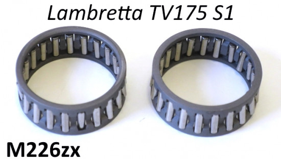 Kit gabbie a rulli per perno messa in moto Lambretta TV1 175cc