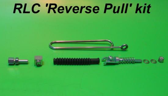 Kit completo Reverse pull per freno anteriore Lambretta S1 + S2 + S3 + TV3 + Special + SX + DL + Serveta