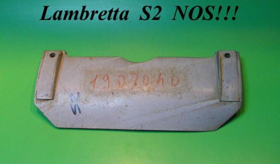 Paraspruzzi ORIGINALE NOS cavalletto Lambretta S2 (2a. Vers.)