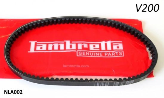 Cinghia trasmissione per Lambretta V200 Special