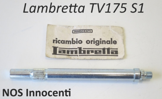 Perno selettore cambio ORIGINALE NOS Innocenti per Lambretta TV1 175cc