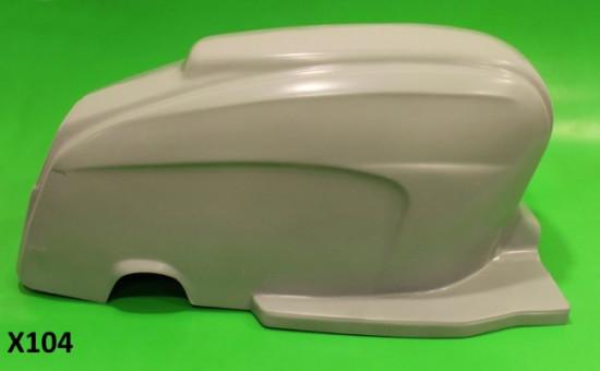 Monoscocca posteriore in vetroresina per Lambretta S3