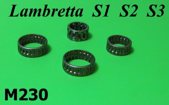 Kit gabbie a rulli frizione / cambio Lambretta S1 + S2 + S3 + SX + Serveta