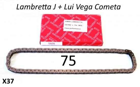Catena IWIS 75 maglie Lambretta J + Lui