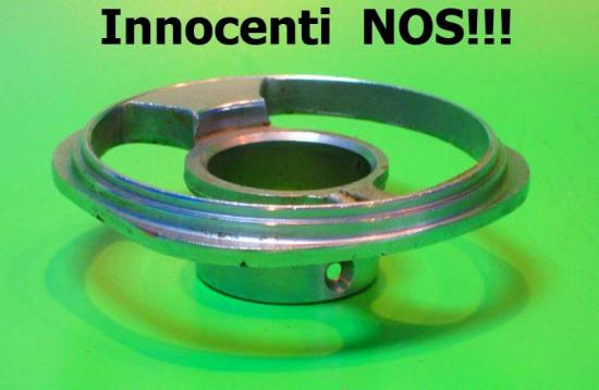 Anello cromato NOS originale per sotto manubrio Lambretta S2