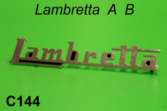 Scritta Lambretta per bauletto posteriore
