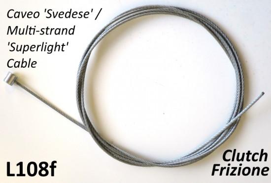 Cavo per comando frizione / freno anteriore in acciaio 'Svedese' Universale
