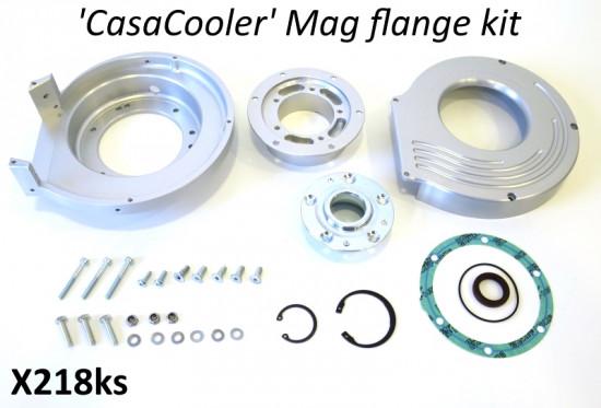 Kit Casa Performance CasaCooler Argento per Lambretta S1 + S2 + TV2 + S3 + TV3 + Special + SX + DL + Serveta