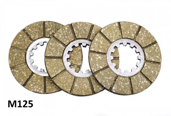 Kit dischi frizione guarniti Surflex Lambretta A + B + C + LC + LD